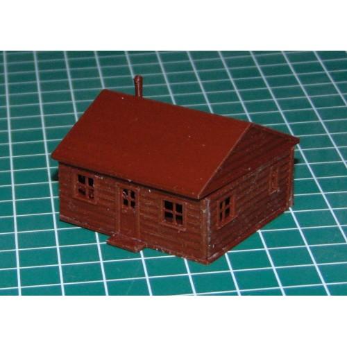 Blokhut A in schaal N (1:160) - kunststof bouwpakket