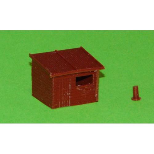 Schuurtje A in N (1:160) - kunststof bouwpakket