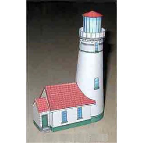 Cape Blanco vuurtoren in N (1:160) - papieren bouwplaat
