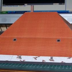 Gelderse boerderij in 1:56 (28mm) - papieren bouwplaat