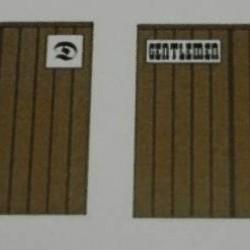 Haltegebouwtje in h0 (1:87) - papieren bouwplaat