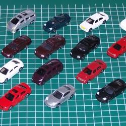 21 Modelauto's in h0 (1:87) - 2e keus