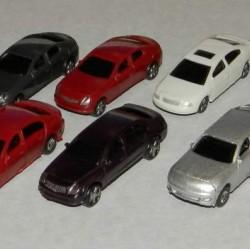 10 Modelauto's in h0 (1:87)