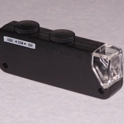 Miniatuur microscoop - 60-100x - met verlichting