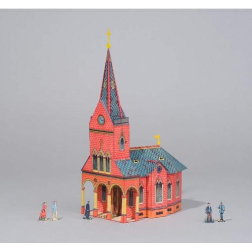 Duitse kerk - 1895 - schaal 1:72