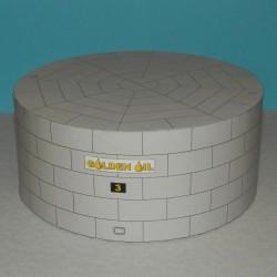 Grote lage opslagtank in h0 (1:87) - papieren bouwplaat