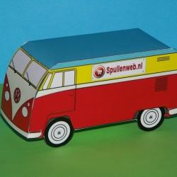 50 Volkswagen T1 busjes met uw tekst of logo