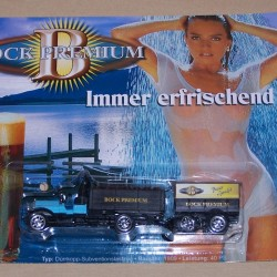 Dürkopp Subventionslastzug truck Bock Premium bier