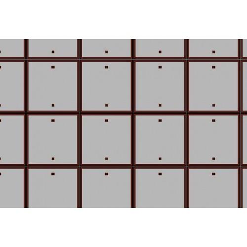 Betonnen rijplaten in 1:100 - A3-vel