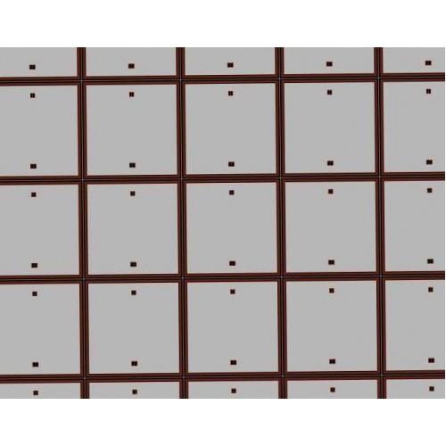 Betonnen rijplaten in 1:56 (28mm) - A4 - papieren wegenplaat