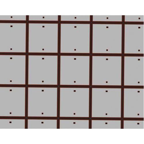 Betonnen rijplaten in 1:60 - A4-formaat