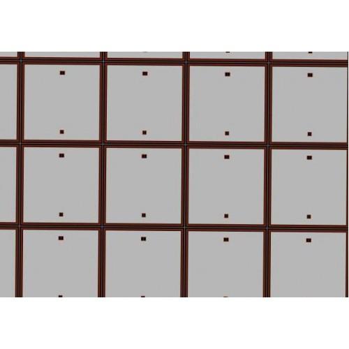 Betonnen rijplaten in 1:72 - A4 - zelfklevend