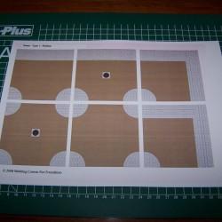 Klinkerstraat - kruisingen - hoeken - T-splitsingen - zelfklevende wegenplaat