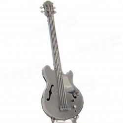Bas gitaar - metalen bouwplaat