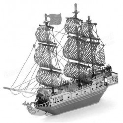 Black Pearl - metalen bouwplaat - model B