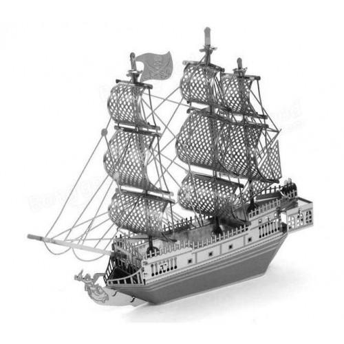 Black Pearl - metalen bouwplaat - model B