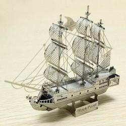 Black Pearl - metalen bouwplaat - tijdelijk uitverkocht