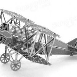 Fokker tweedekker - metalen bouwplaat