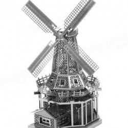 Windmolen, metalen bouwplaat - tijdelijk uitverkocht