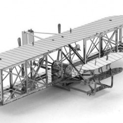 Wright Flyer - metalen bouwplaat