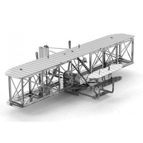 Wright Flyer - metalen bouwplaat