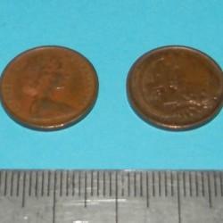 Australië - 1 cent 1966