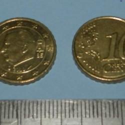 België - 10 cent 2010