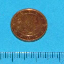België - 1 cent 2016