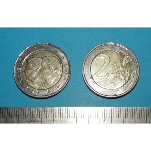 België - 2 Euro 2005 - economische Unie Luxemburg