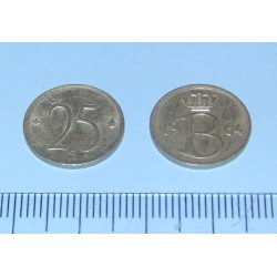 België - 25 centimes 1964F