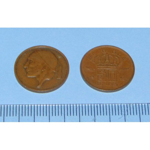 België - 50 centimes 1955F