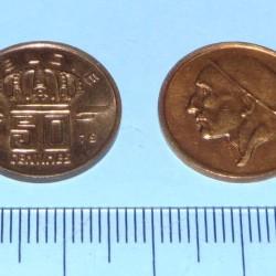 België - 50 centimes 1979N