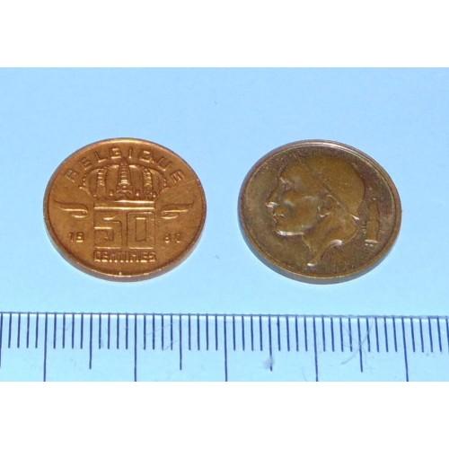 België - 50 centimes 1980F