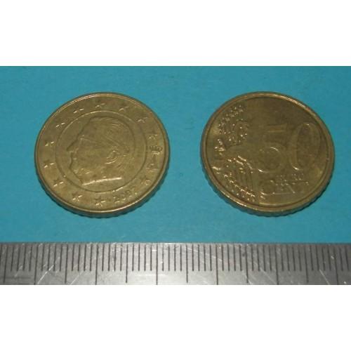 België - 50 cent 2007