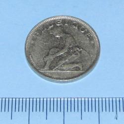 België - 1 frank 1922F