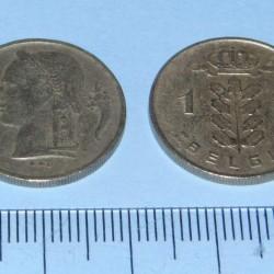 België - 1 frank 1951N