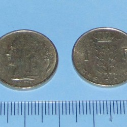 België - 1 frank 1975F