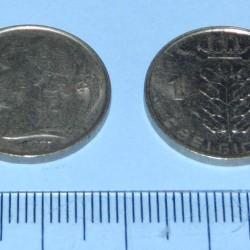 België - 1 frank 1981F