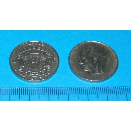 België - 10 frank 1972F
