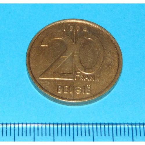 België - 20 frank 1994N