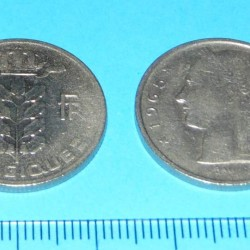 België - 5 frank 1965F