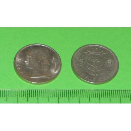 België - 5 frank 1971F