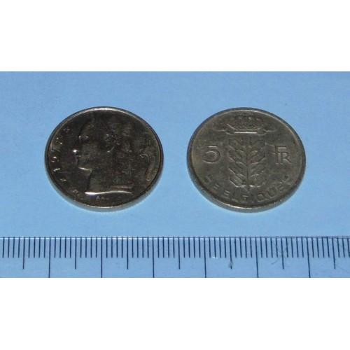 België - 5 frank 1972F