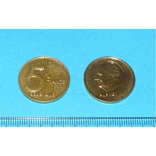 België - 5 frank 1994F