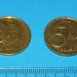 België - 5 frank 1994N
