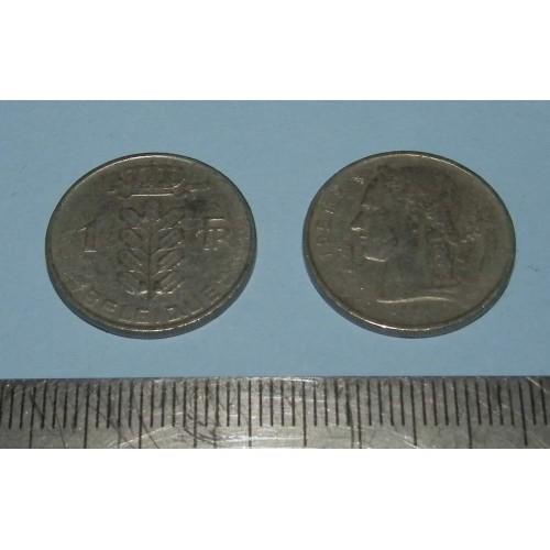 België - 1 frank 1951 Frans