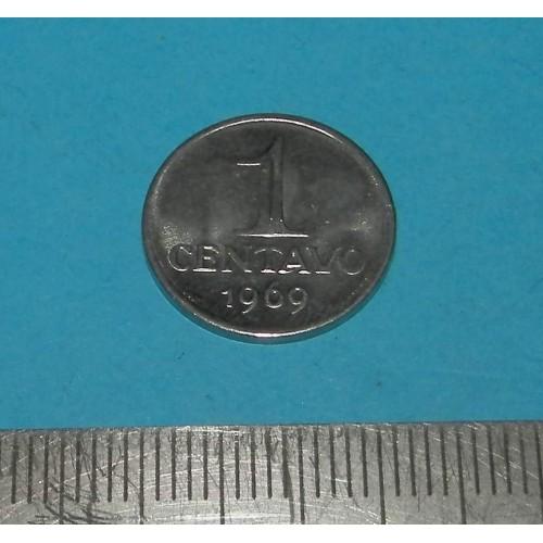 Brazilië - 1 centavo 1969
