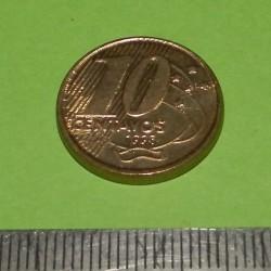 Brazilië - 10 centavos 1998