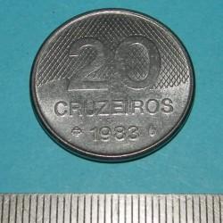 Brazilië - 20 cruzeiros 1983