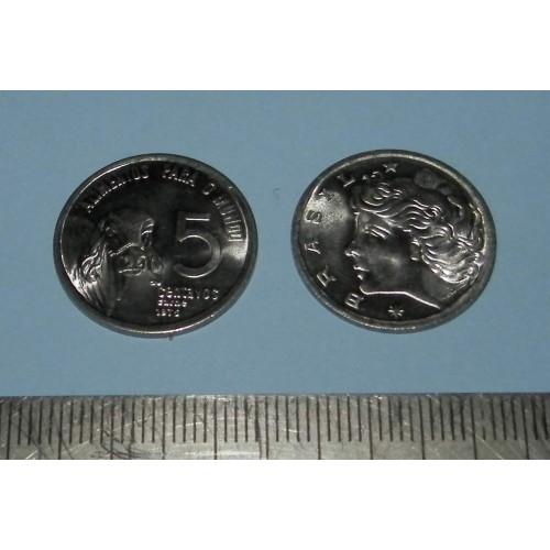 Brazilië - 5 centavos 1975